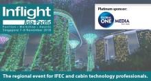 One week to go until Inflight Asia - Pacific - Global ONE Media proud platinum sponsor