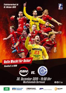 First Debit hilft: Handballer des ASV Hamm-Westfalen spielen volle Wucht für Oskar