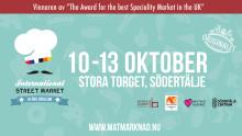 Matmarknaden som gjorde succé i Södertälje kommer tillbaka