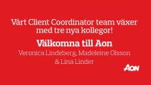 Vårt Client Coordinator team växer med tre nya kollegor!
