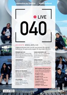 MKB Fastighets AB och Malmö Live samarbetar för att fler ungdomar och unga vuxna ska ta del av Malmös kulturutbud