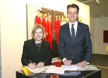 Vertragsverlängerung: art KARLSRUHE und Mannheimer Versicherung AG kooperieren weiterhin