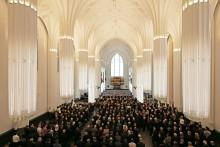 Feierliche Eröffnung des Paulinums der Universität Leipzig - Aula und Universitätskirche St. Pauli