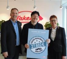 Mit Schnurrbärten 27.602 Euro für die Männergesundheit