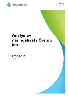 Analys av näringslivet i Örebro län 2015