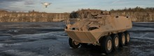 MyDefence Successfully Integrates Counter UAS Sensors in Light Armoured Vehicle