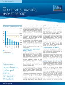 EMEA Industri & logistikrapport