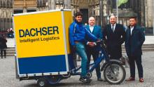 DACHSER Köln startet die Belieferung per elektrisch unterstütztem Lastenrad
