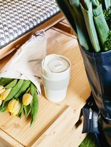Zero Waste unterwegs oder im Büro: ONO Coffee to go Becher von Thomas und Daily Life von Rosenthal