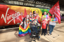 Virgin Trains invites railway fan to ride with pride to Manchester