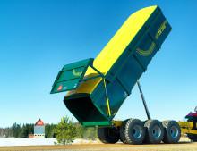 Stabil vagn med hydraulisk fjädring presenteras på MaskinExpo