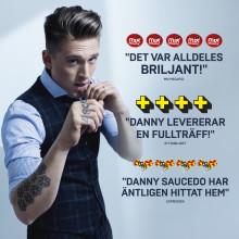 """Danny Saucedo gör stor succé med krogshowen """"NU!"""".  Och nu är det klart att showen fortsätter på Hamburger Börs även i höst!"""