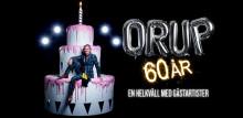 Orups 60-års kalas i Ericsson Globe den 29 november närmar sig slutsålt