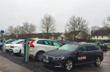 Nya laddstationer för elbilar i Vetlanda