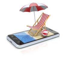 Varannan svensk mobilsurfar på utlandsresan