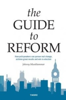 Ny bok från Timbro: The Guide to Reform