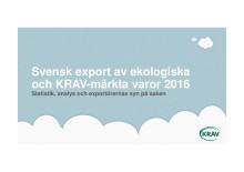 KRAV Exportrapport 2016