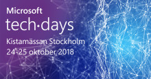 Träffa ManageEngine på Microsoft TechDays 2018