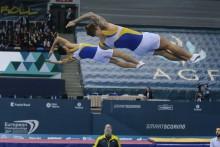 Måns Åberg på 16:e plats i trampolin på Europeiska Spelen