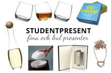 Fyndiga, smarta och fina presenter till studenten