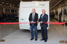 Fendt-Caravan weiht das neue dritte Produktionsband ein