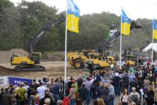 Nordbau 2015 – Swecon Baumaschinen GmbH mit neuen Modellen aus der Volvo-Welt