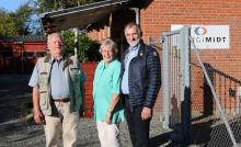 Bente Rasmussen har boet på en transformatorstation i 60 år