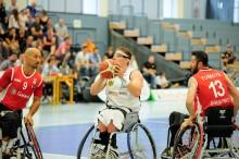 Hamburg: Kurvball-VM for rullestolbrukere