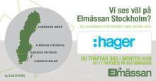 Träffa oss på Elmässan i Stockholm