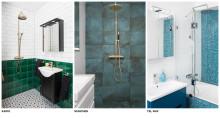 5 starka badrumstrender 2017 i Fredells nya utställningar