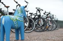 16 elcyklar i stort test