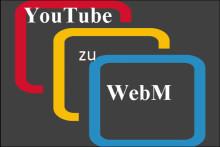 So konvertieren Sie YouTube zu WebM