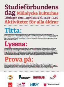 Välkommen till Studieförbundens dag i Härryda!