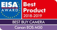 Kaksi Canonin järjestelmäkameraa, objektiivi ja salamalaite on palkittu EISA Awards -tunnustuksella!