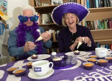 ​South Tyneside Life After Stroke Group celebrates re-launch in Make May Purple
