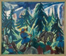 Minnen av Lappland på samernas nationaldag