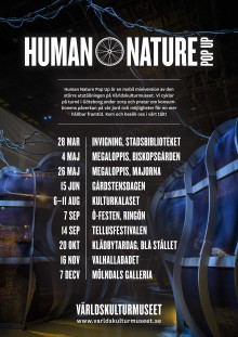Turnéplan Human Nature Pop-up
