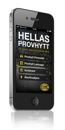 HELLA lanserar världens första App för extraljus