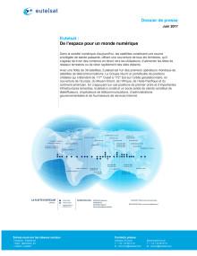 Eutelsat Dossier de presse, juin 2017