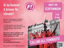 Feministisk färgexplosion för klimatet