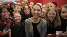 Barn i Jämtland hedrar kämpe för flickor i sexhandel