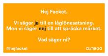 Ny kampanj från Almega -  #hejfacket