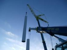 Vindkraft projekteras med hjälp av Topocad