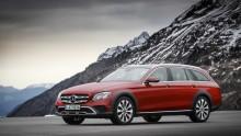 Svenska priser för Mercedes E-Klass All-Terrain – fullvuxen kombi för fullvuxna uppgifter
