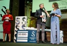 Sommarhuset vann över den stora scenen när Svenska Fönster-priset delades ut