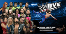 WWE LIVE PÅ HOVET FLYTTAS TILL VÅREN - MED NY LINE-UP!