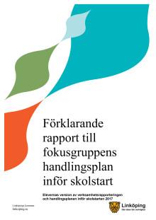 Förklarande rapport till fokusgruppens handlingsplan
