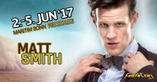 Matt Smith Doctor Who kommt zum Science Fiction Mega Event FedCon nach Bonn