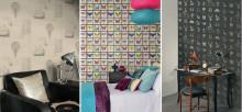 Tapetnyheter hos Happy Homes från InTrade med oväntade teman och spännande motiv