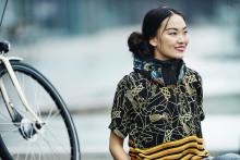 Hövding inspirerar till säkert cyklande på Politikens Hus